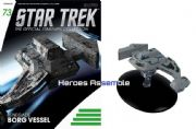 Star Trek Official Starships Collection #073 Renegade Borg Vessel Eaglemoss